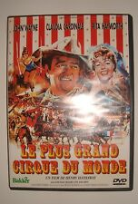 CULTE DVD LE PLUS GRAND CIRQUE DU MONDE JOHN WAYNE CLAUDIA CARDINALE RITA HAYWOR