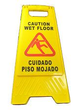 """Generic Wet Floor Sign 25"""" Tall A Frame JS-8100"""
