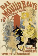 Bal au Moulin Rouge - Grande Fete A3 Art Poster Print
