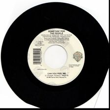 SOMETHIN' FOR THE PEOPLE CAN YOU FEEL ME 45RPM VINYL