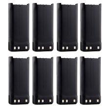 8X KNB-45L 1650mAh Battery for KENWOOD TK-2200L TK-3200L TK-2207 TK-3207 TK-2312