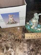 Charming Tails Guess What Bunny Rabbit Figurine Knitting Booties 89/714