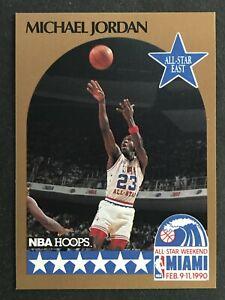 MICHAEL JORDAN ALL-STAR 1990 NBA HOOPS  NO 5     58000