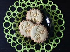 Eat Me Cookie Pastry Biscuit Cutter Icing Fondant Baking Alice In Wonderland Fun