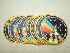Lot of 10 NASA Space Shuttle Astronauts Ross Gibson STS-27 Iron On Patch