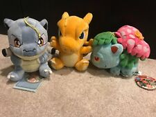 Blastoise, Charizard, Venasaur RARE Banpresto Plush Toy Pokemon Pokedoll
