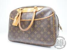AUTH PRE-OWNED LOUIS VUITTON MONO DEAUVILLE COSMETIC CASE HAND BAG M47270 160862