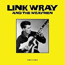 LINK WRAY/LINK WRAY & HIS WRAYMEN LINK WRAY & THE WRAYMEN [LP] NEW VINYL RECORD