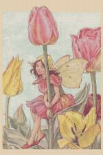 Tulip Fairy Counted Cross Stitch COMPLETE KIT #8-407/20