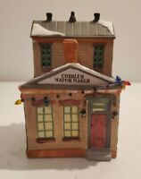 NEW 1992 LEMAX Porcelain Village Accessory #23041 COBBLER WATCHMAKER'S HOUSE