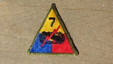 WW2 US Army Military 7th  Armored Division Forces Patch SSI Insignia