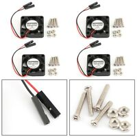 4x 2 Pin 30MMx30MM 3007 5V Cooling Fan radiating Fit For Raspberry Pi 2/3 Model