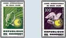 Timbres Cosmos Dahomey 216/7 * lot 12200