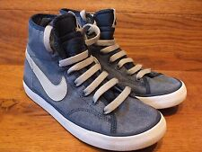 Nike Primo Court Mid Top Vintage logocasual Baskets Taille UK 3 EU 35.5