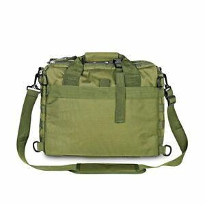 Tactical Shoulder Bag Nylon Messenger Laptop Briefcase Outdoor Climbing Hiking