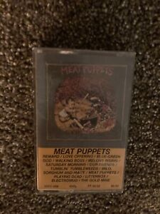 Meat Puppets - Self Titled S/T - Cassette Tape - 1982 - SSTC 009 - VG+