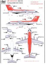 LPS Decals 1/144 BAE 146 NORTHWEST JETLINK AIRLINES