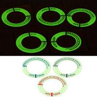 New Luminous Car Ignition Key Ring Key Decorate Circle For Hyundai Nissan Toyota