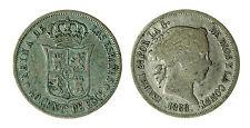 pcc1840_36) ESPAÑA SPAIN ISABEL II 40 CENTIMOS ESCUDO 1868 MADRID