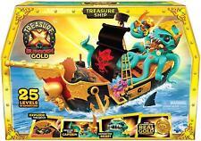Treasure X Sunken Gold Treasure Ship Pirates Toy Playset
