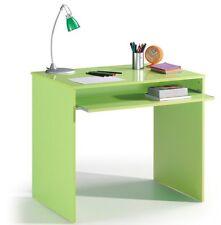 Leo Computer Study Desk Childrens Bedroom Furniture Green Melamine