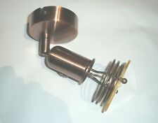 Pack of 2X Abakus Direct One Head Spotlight Vintage Copper Design Light