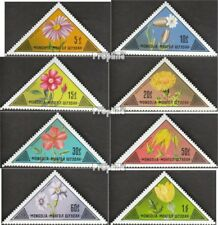 Mongolia 816-823 unmounted mint / never hinged 1973 Flowers