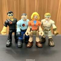 4 Fisher Price Imaginext Jurassic World Park Worker Dr Malcolm Dr Sattler Toy