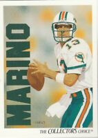 FREE SHIPPING-MINT-1991 Upper Deck #83 Dan Marino  Dolphins COLLECTOR'S CHOICE