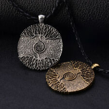 Vikings Amulet The Tree of Life Yggdrasil Nordic Talisman Pendant Necklace