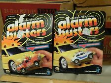 Alarm Busters Action Vehicles (1989) LOT of 2 Diecast ~ VW Baja + Rescue Truck