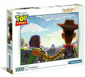 Clementoni The Art Of Collection - Toy Story 1000 Piece Jigsaw Puzzle - New