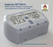 Eaglerise SET160CK Halogen Trafo 12V 160 Watt halbrund dimmbar Transformator