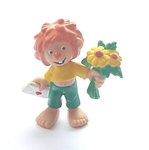 Figurine Collection Pumuckl Bully 1983 Pumuckl IN Love 2 3/16in