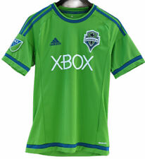 Adidas Seattle Sounders FC MLS XBOX Jersey Small Green Climacool