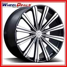 "26"" BORGHINI BW B18 WHEELS & TIRES PACKAGE FITS Chevy ,Ford And Cadillac"