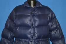 vintage 70s Campus Nylon Down Fill Men'S Puffy Warm Winter Jacket Medium M