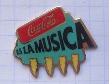 Coca-Cola/es la Musica... Pin (136a)