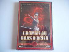 DVD NEUF - L'HOMME AU BRAS D'ACIER / COLLECTION CEINTURE NOIRE - ZONE 2