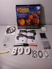 Halloween Pumpkin Masters Decorating Party Kit With 6 Craft Activities