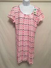 Dearfoams women's pink Sleeping Night gown XXL(message print)