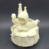 Department 56 Winter Tales Snowbabies What Will I Catch Music Box