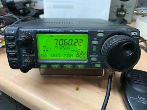 Icom IC-706mkIIg Multiband multimode Transceiver hf vhf uhf