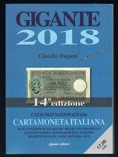 GIGANTE 2018 CATALOGO CARTAMONETA ITALIANA