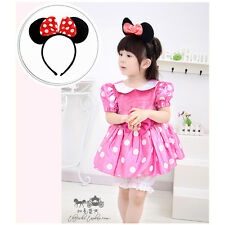 Funny Minnie Mouse Ears Bow Headband Hen Club Mickey Party Fancy Dress Girl