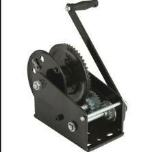 Ultra-Tow Single Speed Hand Winch with Automatic Brake 2500-Lb. Load Capacity