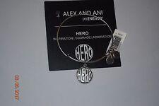 CBD Alex & Ani Expandable + Energy Bracelet Rafaelian Silver RETIRED Hero NWT