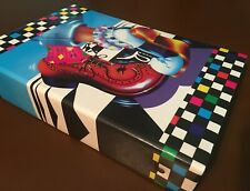 Rare 1988 Vintage Lisa Frank Dancing Shoes 3-Ring Photo Album Cardboard Binder