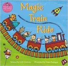 Magic Train Ride PB w CDEX New Paperback Book Sally Crabtree