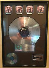 Michael Jackson Dangerous RIAA Platinum Plaque 4 Million Sales 1992 Sony Music